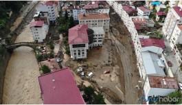 Giresun'da sel felaketi: 5 ölü, 12 yaralı, 11 kayıp
