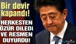Bir devir kapandı: Ülkenin başbakanı istifa etti