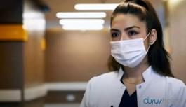 Koronavirüse yakalanan hemşire, üç duyusunu kaybetti