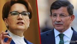 Meral Akşener'den Ahmet Davutoğlu'na ziyaret
