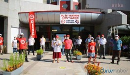 ODTÜ Vişnelik'teki işçiler greve başladı