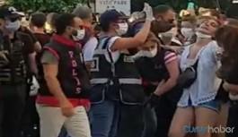 Polis amiri gözaltına alınan kadın için 'kolunu kırın' dedi