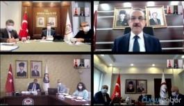 Sağlık Bakanı Koca 4 ilin valisi ile görüştü