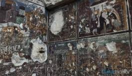 Sümela Manastırı'nda büyük tahribat: Freskler kazınmış