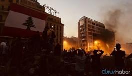 Lübnan'da 'öfke' protestoları: 490 yaralı, 1 ölü