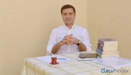 Demirtaş'tan Davutoğlu açıklaması: Geçmişle yüzleşmeyi bir kenara atalım demiyorum...