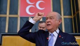 Devlet Bahçeli yine Türk Tabipleri Birliği'ni hedef aldı