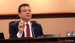 İBB Başkanı İmamoğlu'ndan AKP'ye 5 veto