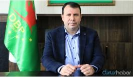 Eski DBP Eş Genel Başkanı Arslan hakkında tahliye kararı