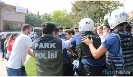 'Hak' talepli eyleme polis müdahalesi: 20'den fazla gözaltı