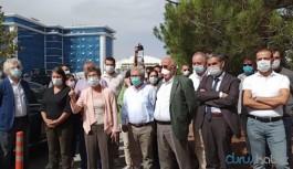HDP'den Ankara Emniyet Müdürlüğü önünde açıklama: Bir şey olursa...