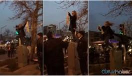 İran'da kesinleşmiş hapis cezası bulunan kadın aktivist Denizli'de gözaltına alındı