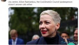 Kaçırılan Belarus muhalefet liderlerinden Kalesnikava'dan haber alınamıyor
