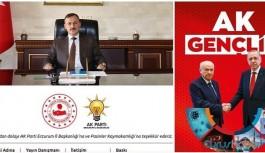 Kaymakam AKP'nin dergisine sponsor oldu