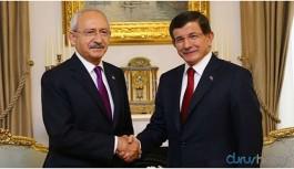 Kılıçdaroğlu ve Davutoğlu'ndan görüşme sonrası flaş ittifak açıklaması