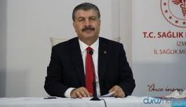 Sağlık Bakanı Koca'dan vaka artış hızı açıklaması