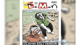 Leman dergisi Sakarya'daki saldırıyı kapağına taşıdı