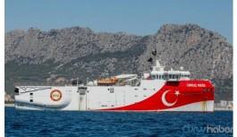 Oruç Reis limana döndü, Yunanistan'dan açıklama