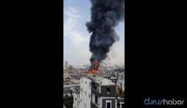 Patlamadan bir ay sonra Beyrut Limanı'nda büyük yangın