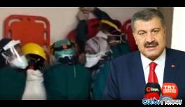 Sağlık Bakanı Koca'dan sağlıkçılara saldırıya ilişkin bir açıklama daha