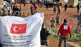 Suriye'de Kızılay aracına saldırı
