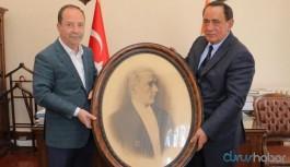 Alaattin Çakıcı'dan belediye başkanına ziyaret