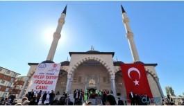 Camiye Erdoğan'ın adı verildi