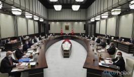 Cumhurbaşkanlığı Kabinesi bugün toplanıyor: Gündem yoğun