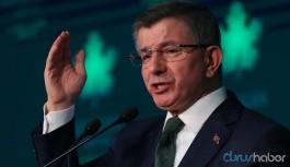 Gelecek Partisi lideri Davutoğlu sert çıktı: TBMM derhal özel oturumla toplanmalı
