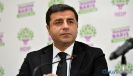 Demirtaş'tan flaş açıklama: Bizi hem öldürüp hem katil ilan edenler...