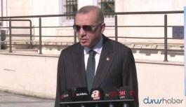Erdoğan'dan 'yeniden koronavirüs kısıtlamaları gelecek mi? sorusuna yanıt