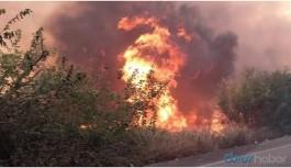 İskenderun'daki yangın yerleşim yerlerine sıçradı