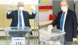 Kıbrıs'taki seçimlerin ikinci turu başladı