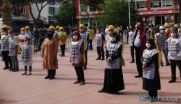 Maden işçisinin Ankara yürüyüşüne polis ve jandarma barikatı