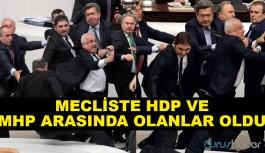 Mecliste HDP Ve MHP Arasında Olanlar Oldu