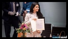 Rojavalı Kürt kadına Almanya'dan ödül