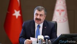 Sağlık Bakanı Koca'dan sondakika salgın açıklaması