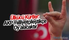 Ülkücü Kürtler: AKP milliyetçileştikçe, oy alacaktır