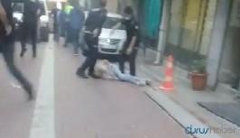 İki grup arasında büyük kavga! Polis bir kişiyi öldürdü!