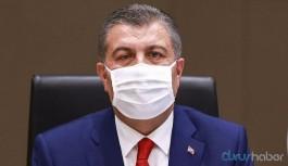 Bakan Koca'dan 'burnun altına indirilmiş maske' açıklaması