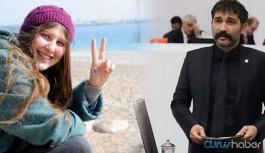 Barış Atay'a 'kırmızı fularlı kız' fezlekesi