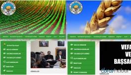 Belediyenin resmi sitesine AKP üyeliği sekmesi konuldu