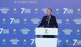 Erdoğan 'bakın burası çok önemli' dedi, parti kongresinde muhalefeti hedef gösterdi