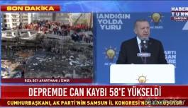Erdoğan: Üye sayısını artırmak demek, seçimden önce seçim kazanmak demektir...