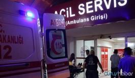 Göçmenleri taşıyan minibüs kaza yaptı: Ölü ve yaralılar var
