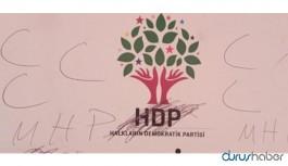 HDP tabelasına saldırı