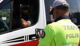 İçişleri Bakanlığı: Yüzlerce araç trafikten men edildi