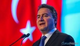 İktidara Ali Babacan uyarısı: Benden söylemesi...