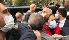 'Kıdem tazminatıma dokunma' diyen DİSK'e Meclis önünde polis engeli