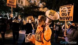 New York'ta Trump karşıtları sokakta